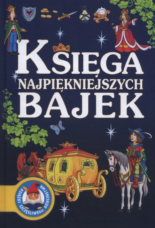 Księga najpiękniejszych bajek - okładka książki