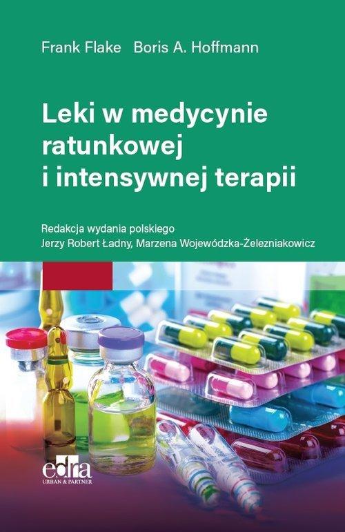 Leki w medycynie ratunkowej i intensywnej - okładka książki
