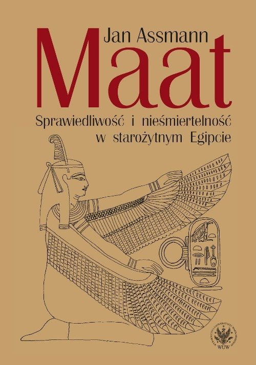 Maat. Sprawiedliwość i nieśmiertelność - okładka książki