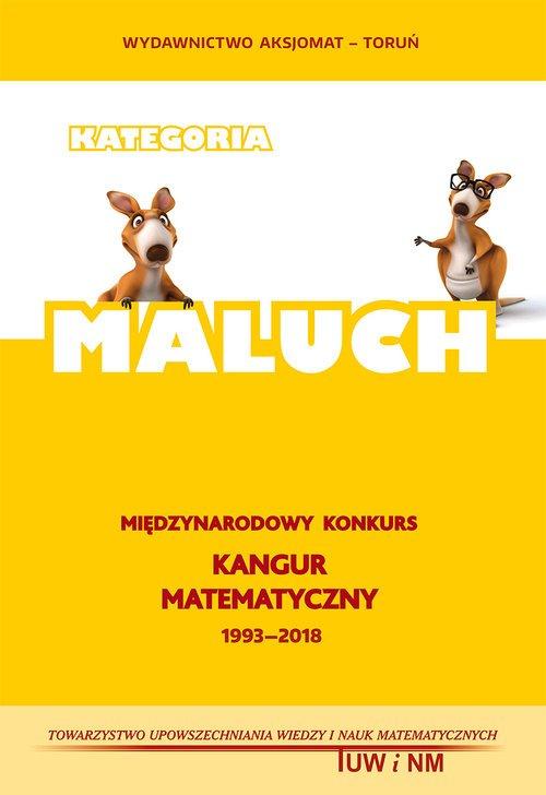 Matematyka z wesołym Kangurem MALUCH - okładka podręcznika