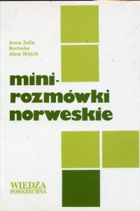 Mini rozmówki norweskie - okładka podręcznika