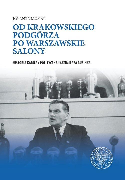 Od krakowskiego Podgórza po warszawskie - okładka książki