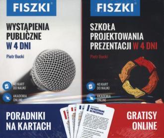 Pakiet fiszki Wystąpienia publiczne - okładka książki