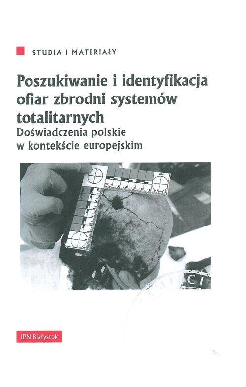 Poszukiwanie i identyfikacja ofiar - okładka książki