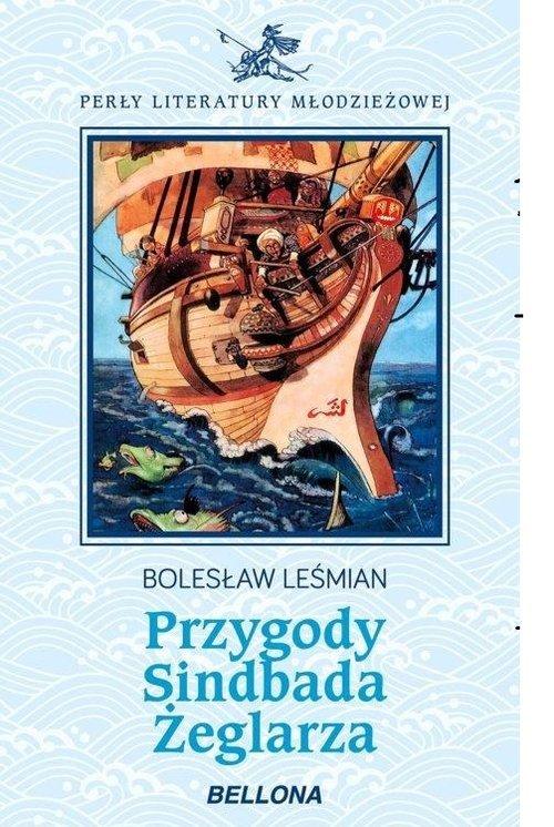 Przygody Sindbada Żeglarza - okładka książki