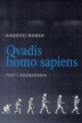 Qvadis homo sapiens. Tezy i rozważania - okładka książki
