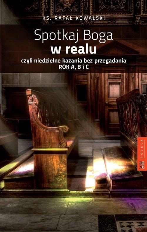 Spotkaj Boga w Realu czyli niedzielne - okładka książki