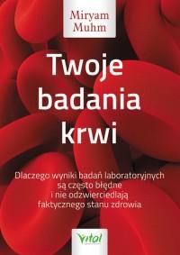 Twoje badania krwi - okładka książki