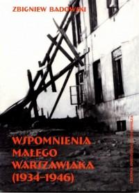 Wspomnienia małego warszawiaka (1934-1946) - okładka książki