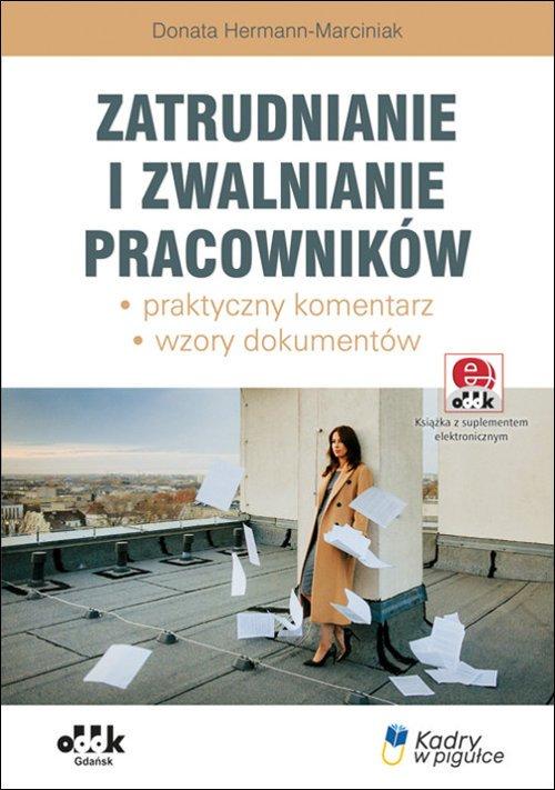 Zatrudnianie i zwalnianie pracowników. - okładka książki
