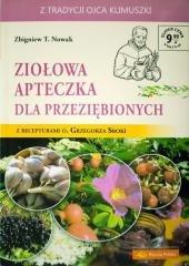 Ziołowa apteczka dla przeziębionych. - okładka książki