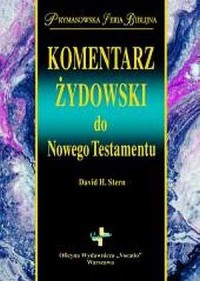 Komentarz żydowski do Nowego Testamentu. Prymasowska Seria Biblijna - okładka książki