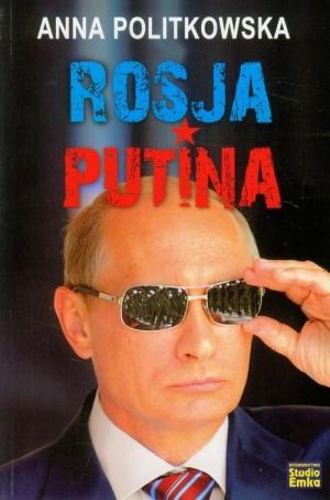Rosja Putina - okładka książki