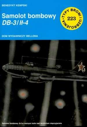 Samolot bombowy DB-3 / Ił-4 - okładka książki