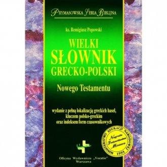 Wielki słownik grecko-polski Nowego - okładka książki