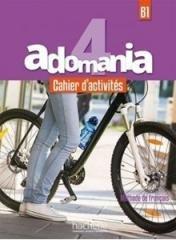 Adomania 4 ćwiczenia (+ CD) - okładka podręcznika