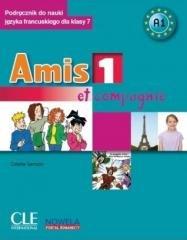 Amis et compagnie 1 podr.+CD+minirepetytorium - okładka podręcznika
