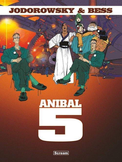 Anibal 5. Wydanie Zbiorcze - okładka książki