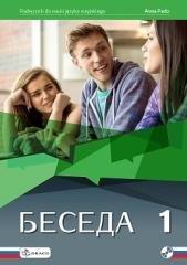 Beseda 1. Podręcznik (+ CD) - okładka podręcznika
