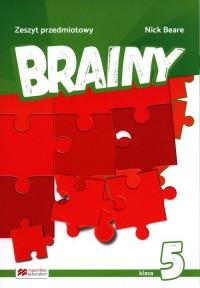 Brainy 5 Zeszyt do języka angielskiego - okładka podręcznika