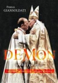 Demon w Watykanie - okładka książki