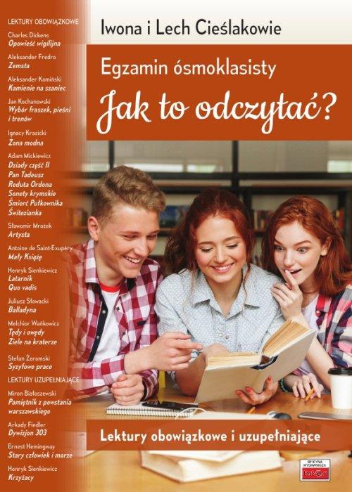 Egzamin ósmoklasisty. Jak to odczytać? - okładka podręcznika