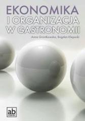 Ekonomika i organizacja w gastronomii - okładka podręcznika