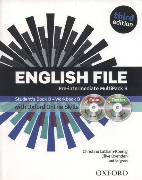 English File 3E Pre-Interm. Multip. - okładka podręcznika