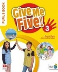 Give Me Five! 3 Pupil s Book Pack - okładka podręcznika