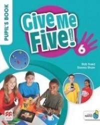 Give Me Five! 6 Pupil s Book Pack - okładka podręcznika