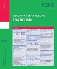 Gramatyka błyskawicznie. Francuski - okładka podręcznika