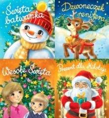 Harmonijka świąteczna - okładka książki