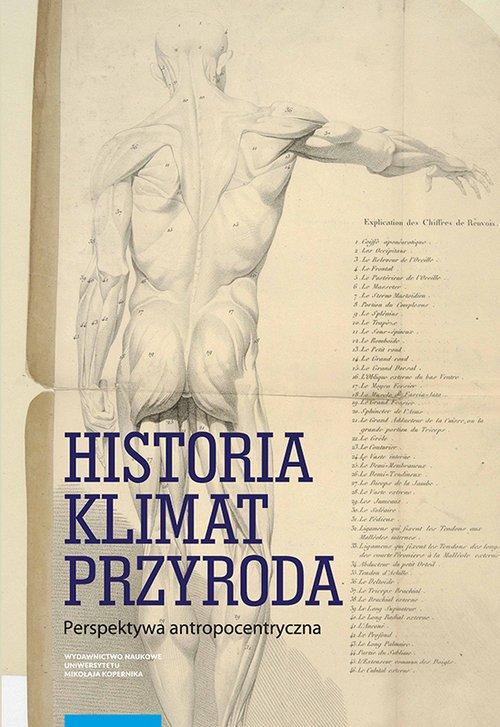 Historia klimat przyroda - okładka książki