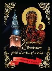 Jasnogórska Skarbnica pieśni adwentowych - okładka książki