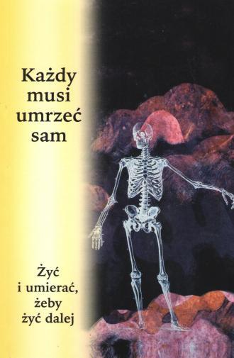 Każdy musi umrzeć sam - okładka książki
