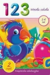 Książeczka edukacyjna. 123 wesoła - okładka książki