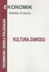 Kultura zawodu podręcznik - okładka podręcznika