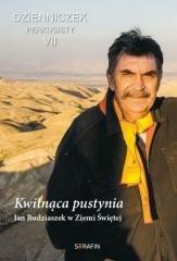 Kwitnąca pustynia. Jan Budziaszek - okładka książki