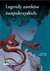 Legendy zamków świętokrzyskich - okładka książki