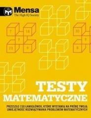 Mensa The High IQ Society. Testy - okładka książki