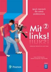 Mit links! 2 KB (+ CD) - okładka podręcznika