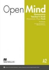 Open Mind Elementary A2 TB Premium - okładka podręcznika