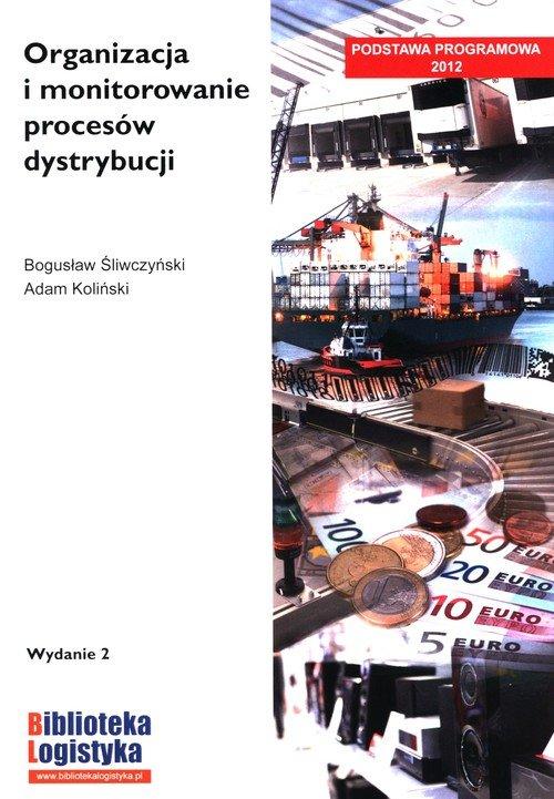 Organizacja i monitorowanie procesów - okładka podręcznika