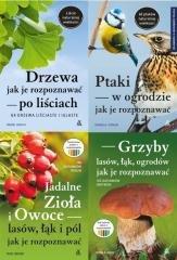 Ptaki/Drzewa/Grzyby/Jadalne zioła - okładka książki
