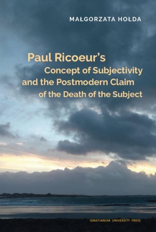 Paul Ricoeur s Concept of Subjectivity - okładka książki