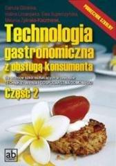 Technologia gastronomiczna z obsługą - okładka podręcznika