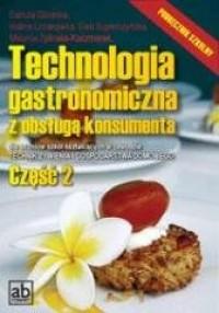 Technologia gastronomiczna z obsługą 2 - okładka podręcznika