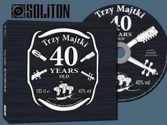 Trzy Majtki - 40 years old! - okładka płyty