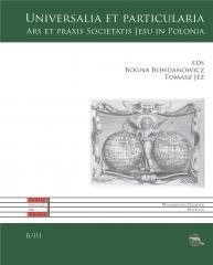 Universalia et particularia. Ars - okładka książki