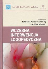Wczesna interwencja logopedyczna. - okładka książki